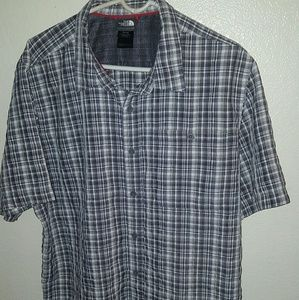 The North Face button up shirt XL